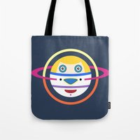 Spaceman 4 Tote Bag