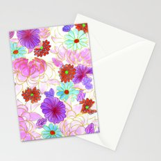 Oriental blossom Stationery Cards
