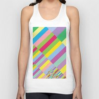 Stairs To Office  [COLOR… Unisex Tank Top