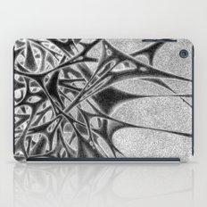 Panic With White Scribbl… iPad Case