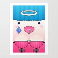 Candy the Valentine's Spirit Art Print