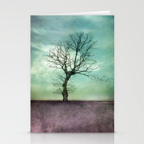 ATMOSPHERIC TREE I Stationery Card