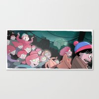 Night Of The Living Ging… Canvas Print