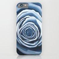 Blue Rose iPhone 6 Slim Case