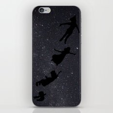 Peter Pan - Fly to Neverland  iPhone & iPod Skin