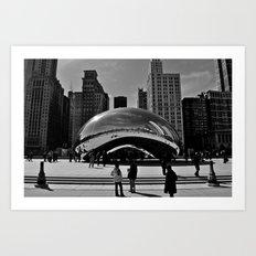 The Bean - Chicago Art Print