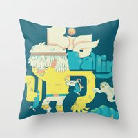 Big Ballin' Throw Pillow