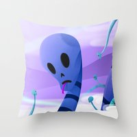 Just Like Paradise Throw Pillow