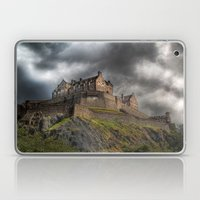 Rain Clouds Over Edinbur… Laptop & iPad Skin