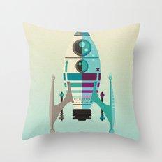 Rocket X Throw Pillow