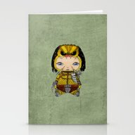 A Boy - Predator Stationery Cards