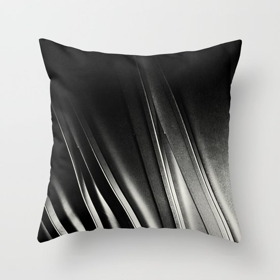 STEEL III. Throw Pillow