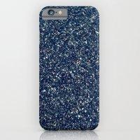 Black Sand II (Blue) iPhone 6 Slim Case