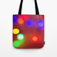 Colourful Lights Tote Bag