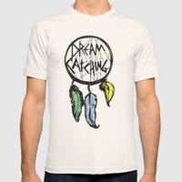 DREAMCATCHING  Mens Fitted Tee Natural SMALL