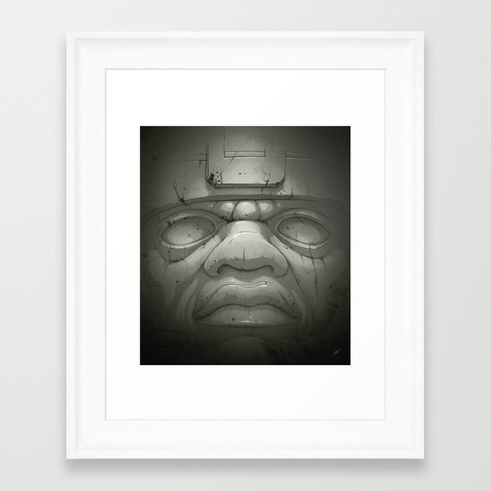 Olmeca I. Framed Art Print