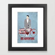 Pee Wee's Big Adventure  Framed Art Print
