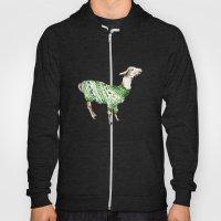 Llama In A Green Deer Sw… Hoody