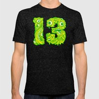 Ugly 13 Mens Fitted Tee Tri-Black SMALL