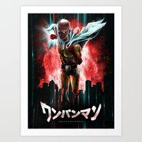 Saitama Is The Epic One … Art Print