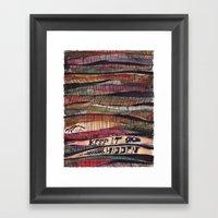 Keep It Hidden Framed Art Print
