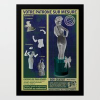 Patrone sur Mesure Art Print