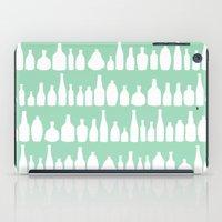 Bottles Mint iPad Case