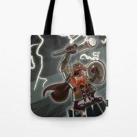 Bolt Thundersmite- Versi… Tote Bag