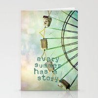 every summer has a story Stationery Cards