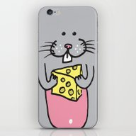 Have A Cheesy Christmas iPhone & iPod Skin