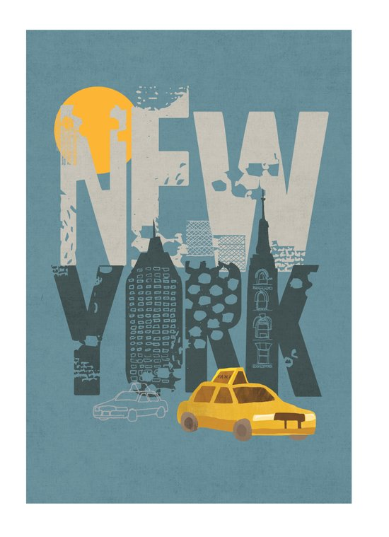 New York! New York! Art Print