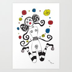 Palhacinha Art Print
