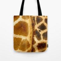 Giraffe skin. Tote Bag