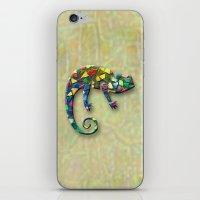 Animal Mosaic - The Cham… iPhone & iPod Skin