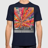 Blooming Toronto Mens Fitted Tee Navy SMALL