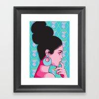 Sandrah Framed Art Print