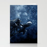 Cosmic Turtle Stationery Cards