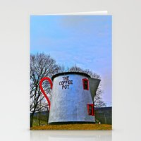 The Coffee Pot Stationery Cards