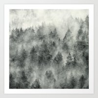 forest Art Prints featuring Everyday by Tordis Kayma
