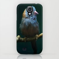 Galaxy S4 Cases featuring Cordon Bleu Canary by TaLins