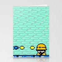 Minion's Last Rites: Mega Man's Metool Stationery Cards