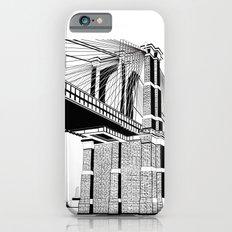Brooklyn Bridge Black and White iPhone 6 Slim Case