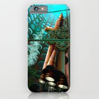 iPhone & iPod Case featuring Steam Train Punk by Goodson Productions