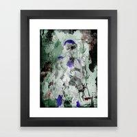 Lord Frieza - Digital Watercolor Painting Framed Art Print