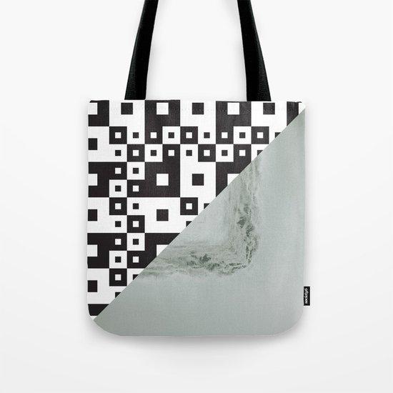 waves/grid #7 Tote Bag