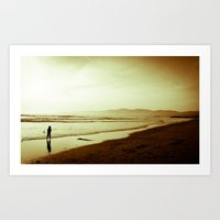 Sharing the Tide Art Print