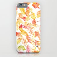 iPhone Cases featuring SEPTEMBER by Diego Baldini