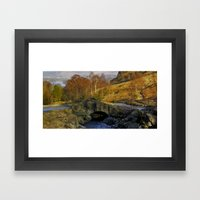 Ashness Bridge  Lake Dis… Framed Art Print