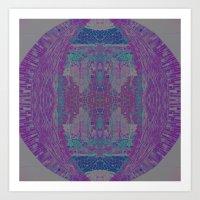 Jewel Tones II Art Print