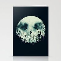 Halloween Town Stationery Cards